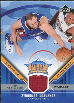 2005/06 Upper Deck All-Star Weekend Authentics #ZI Zydrunas Ilgauskas