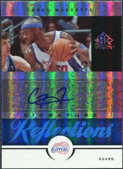 2005/06 Upper Deck Reflections Signatures Blue #CM Corey Maggette Auto /50