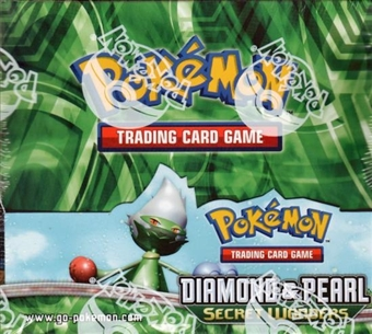 Pokemon Diamond & Pearl Secret Wonders Booster Box