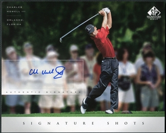 2004 Upper Deck SP Signature Shots 8 x 10 #CHO Charles Howell III Autograph