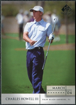 2004 Upper Deck SP Signature #13 Charles Howell III