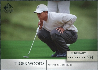 2004 Upper Deck SP Signature #29 Tiger Woods