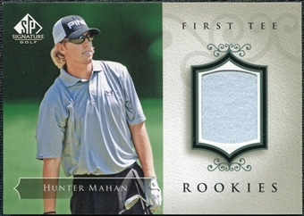 2004 Upper Deck SP Signature #47 Hunter Mahan Shirt