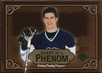 2005/06 Upper Deck Diary of a Phenom #DP9 Sidney Crosby