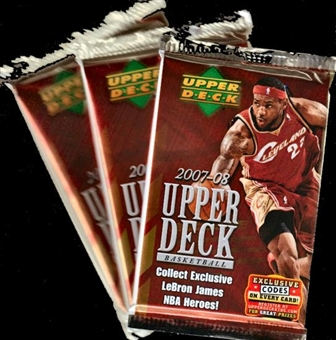 2007/08 Upper Deck Basketball Retail Pack