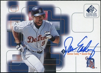 1999 Upper Deck SP Signature Autographs #DEA Damion Easley