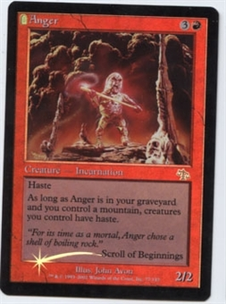 Magic the Gathering Judgment Single Anger Foil