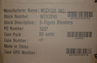 WizKids HeroClix Marvel Mutations and Monsters Booster Case (20 Ct.) WZK3245