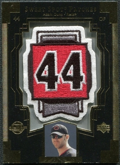 2003 Upper Deck Sweet Spot Patches #AD1 Adam Dunn