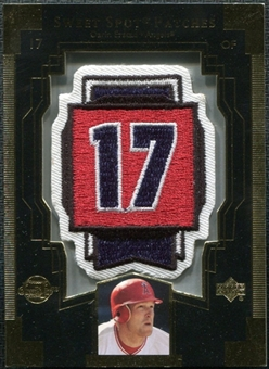2003 Upper Deck Sweet Spot Patches #DE1 Darin Erstad