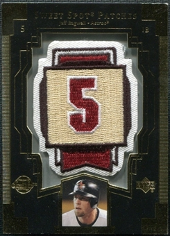 2003 Upper Deck Sweet Spot Patches #JB1 Jeff Bagwell