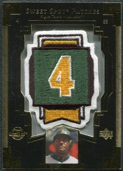2003 Upper Deck Sweet Spot Patches #MT1 Miguel Tejada