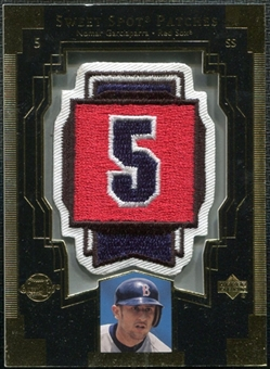 2003 Upper Deck Sweet Spot Patches #NG1 Nomar Garciaparra
