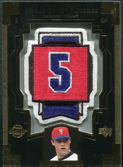 2003 Upper Deck Sweet Spot Patches #PB1 Pat Burrell