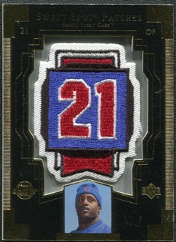 2003 Upper Deck Sweet Spot Patches #SS1 Sammy Sosa