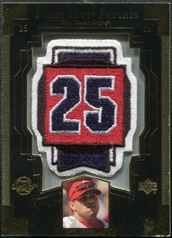 2003 Upper Deck Sweet Spot Patches #TG1 Troy Glaus