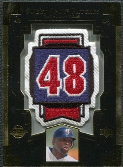 2003 Upper Deck Sweet Spot Patches #TH1 Torii Hunter