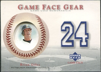 2003 Upper Deck Game Face Gear #BG Brian Giles