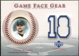 2003 Upper Deck Game Face Gear #JK Jason Kendall