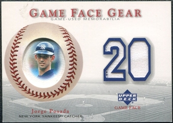 2003 Upper Deck Game Face Gear #JP Jorge Posada