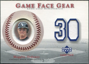 2003 Upper Deck Game Face Gear #MO Magglio Ordonez