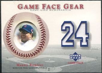 2003 Upper Deck Game Face Gear #MR Manny Ramirez