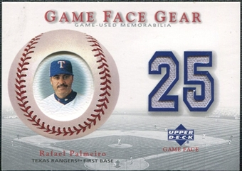 2003 Upper Deck Game Face Gear #RP Rafael Palmeiro