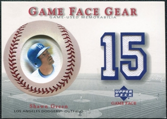 2003 Upper Deck Game Face Gear #SG Shawn Green