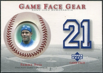 2003 Upper Deck Game Face Gear #SS Sammy Sosa