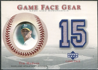 2003 Upper Deck Game Face Gear #TI Tim Hudson