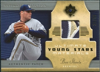 2005 Upper Deck Ultimate Collection Young Stars Materials Patch #BS Ben Sheets /30