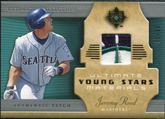 2005 Upper Deck Ultimate Collection Young Stars Materials Patch #JR Jeremy Reed /30