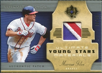2005 Upper Deck Ultimate Collection Young Stars Materials Patch #MG Marcus Giles /30
