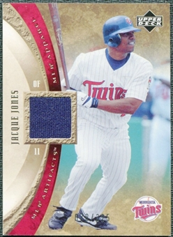 2005 Upper Deck Artifacts MLB Apparel #JJ Jacque Jones Jersey /325