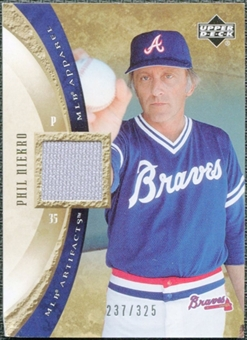 2005 Upper Deck Artifacts MLB Apparel #PN Phil Niekro Jersey /325
