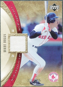 2005 Upper Deck Artifacts MLB Apparel #WB Wade Boggs Jersey /325