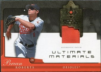 2005 Upper Deck Ultimate Collection Materials Patch #BR Brian Roberts /25