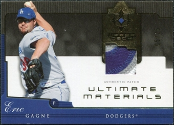 2005 Upper Deck Ultimate Collection Materials Patch #EG Eric Gagne /25