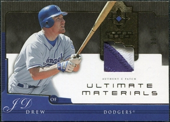 2005 Upper Deck Ultimate Collection Materials Patch #JD J.D. Drew /25
