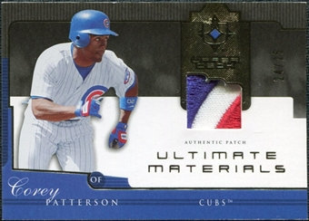2005 Upper Deck Ultimate Collection Materials Patch #PA Corey Patterson /25