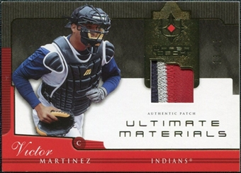 2005 Upper Deck Ultimate Collection Materials Patch #VM Victor Martinez /25