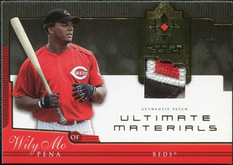 2005 Upper Deck Ultimate Collection Materials Patch #WP Wily Mo Pena /25
