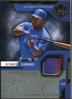 2005 Upper Deck Ultimate Collection Sluggers Patch #CP Corey Patterson /25