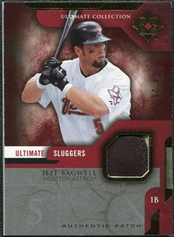 2005 Upper Deck Ultimate Collection Sluggers Patch #JB Jeff Bagwell /25