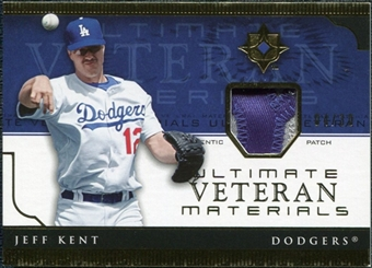 2005 Upper Deck Ultimate Collection Veteran Materials Patch #JK Jeff Kent /30