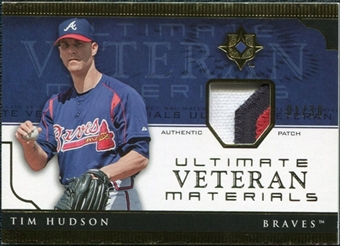 2005 Upper Deck Ultimate Collection Veteran Materials Patch #TH Tim Hudson /30