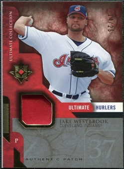 2005 Upper Deck Ultimate Collection Hurlers Patch #JW Jake Westbrook /25