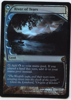Magic the Gathering Future Sight Single River of Tears Foil - NEAR MINT (NM)