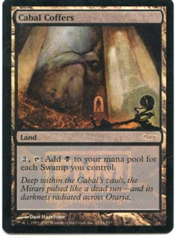 Magic the Gathering Promo Single Cabal Coffers Foil (Friday Night Magic)