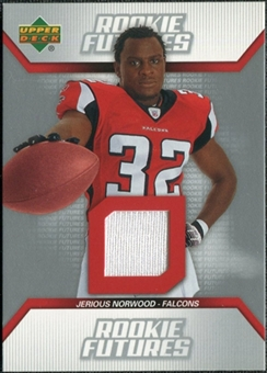 2006 Upper Deck Rookie Futures Jersey #RFJN Jerious Norwood